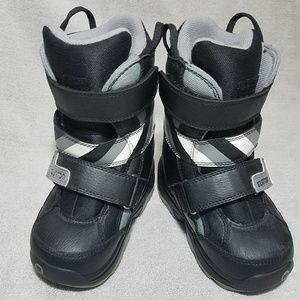 Burton's kids grom snowboard boots 12C